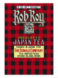 Rob Roy Brand Tea Posters