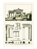 The Erechtheum at Athens Poster by J. Buhlmann