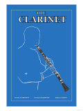 The Clarinet Posters
