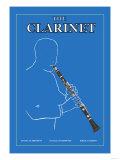 The Clarinet Premium Giclee Print