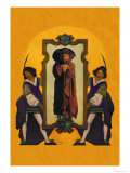 Knaves and Wizard Premium Giclee Print by Maxfield Parrish