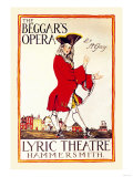 "Captain Macheath, the Highwayman Hero of ""The Beggar's Opera"" by John Gay (1685-1732), Giclee Print"
