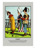 Croquet, c.1873 Prints by J.e. Rogers