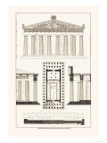 The Parthenon at Athens Prints by J. Buhlmann