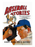 Baseball Stories: Eight Bums and a Batboy Premium Giclee Print