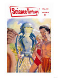 Science Fantasy: Robot with Human Friends Posters