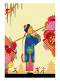 Chinese Fairy Tale Posters by Frank Mcintosh