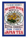 Meadow Queen Tea Poster