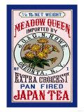 Meadow Queen Tea Posters