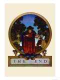 The End Affiches par Maxfield Parrish