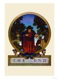 The End Poster von Maxfield Parrish