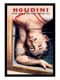 Houdini: Upside Down in the Water Torture Cell Posters