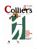 Collier's: Good Times Knocking at the Door Poster
