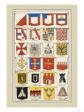 Heraldic Arms: Twemlow and Mascally Kunstdrucke von Hugh Clark