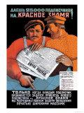 V. Okhlopkov - Red Banner Umělecké plakáty