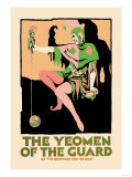 Gilbert & Sullivan: The Yeomen of the Guard (The Jester) Print
