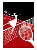 Partie de tennis Poster