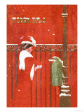 Christmas Greetings Posters by C. Coles Phillips