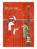 クリスマス・カード/メッセージ アートポスター : C. コールズ・フィリップス