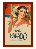 Gilbert & Sullivan: The Mikado, or The Town of Titipu Posters