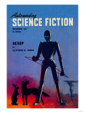 Astounding Science Fiction, December 1947 Affiches