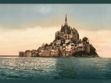 Mont St. Michel at High Tide Poster
