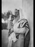 Rabbi Blowing the Shofar Photo