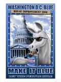 Washington D.C. Blue, House Improvement 2006 Posters by Richard Kelly