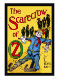 The Scarecrow of Oz Premium Giclee Print by John R. Neill