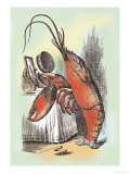 Through the Looking Glass: The Lobster Quadrille Stampe di Tenniel, John