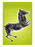 Zebra Posters by Frank Mcintosh