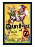 The Giant Horse of Oz Print by John R. Neill