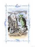 Alice in Wonderland: The Mock Turtle&#39;s Story Affiches par John Tenniel