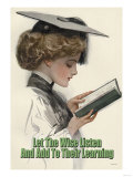 Let the Wise Listen and Add to Their Learning Posters