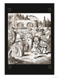 Through the Looking Glass: The Queen's Croquet Ground Prints by John Tenniel