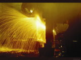 Welding in the Round-House Photo by Jack Delano