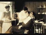 Dental Work Print by Lewis Wickes Hine