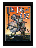 Tik-Toc of Oz Prints by John R. Neill