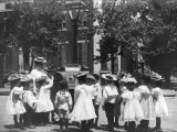 2nd Division Grade School Pupils Prints by Frances Benjamin Johnston