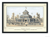 Arkansas Building, Centennial International Exhibition, 1876 Posters by Thompson Westcott
