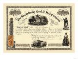 The Shickskinny Coal & Iron Company, c.1868 Posters