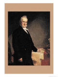 James Buchanan Affiches par George Peter Alexander Healy