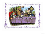 Alice in Wonderland: A Mad Tea Party Prints by John Tenniel