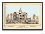 West Virginia Building, Centennial International Exhibition, 1876 Prints by Linn Westcott