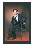 Abraham Lincoln Affiches par George Peter Alexander Healy
