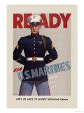 Join U.S. Marines Poster von  Sundblom