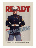Join U.S. Marines Posters by  Sundblom
