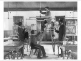 Hampton Institue Classroom Posters by Frances Benjamin Johnston