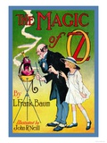 The Magic of Oz Poster by John R. Neill