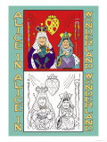 Alice in Wonderland: King and Queen of Hearts Posters by John Tenniel